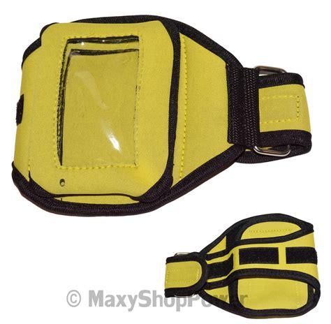 New Afida Maxy T2909 1 maxy custodia universale da braccio armband yellow black