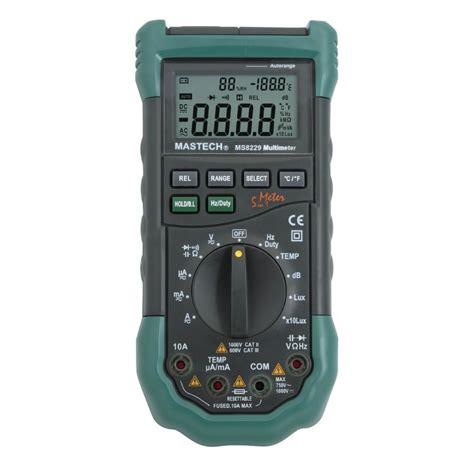 Multimeter Digital Mastech mastech ms8229 digital multimeter multimeter test