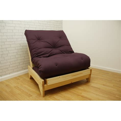 single pine futon the norwich chairbed
