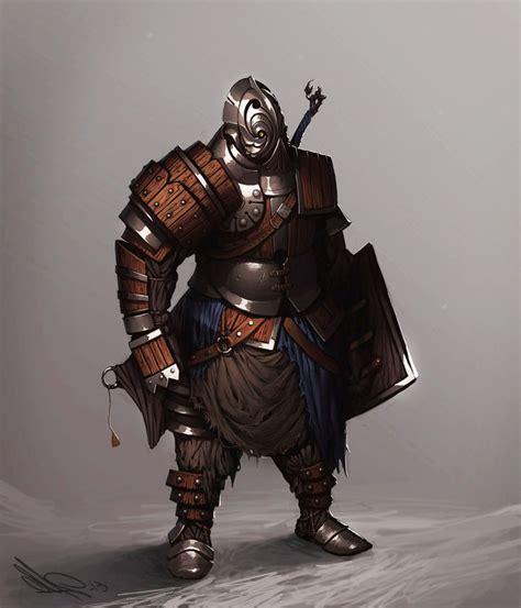wooden armor  motise  deviantart character art