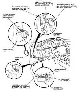 1991 honda accord fuel relay location
