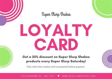 Loyalty Card Template Canva by Customize 9 058 Card Templates Canva