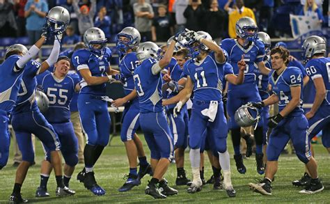Mn High School Football Sections by Top Of The Week
