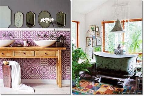 Rooms Design by Come Arredare Il Bagno In Stile Boho O Bohemien