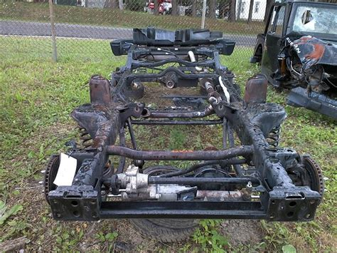 Jeep On Frame 2013 Jeep Wrangler Frame 2 Dr Lhd With Rubicon Axles