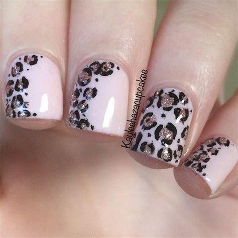 Animal Print Designs On Nails