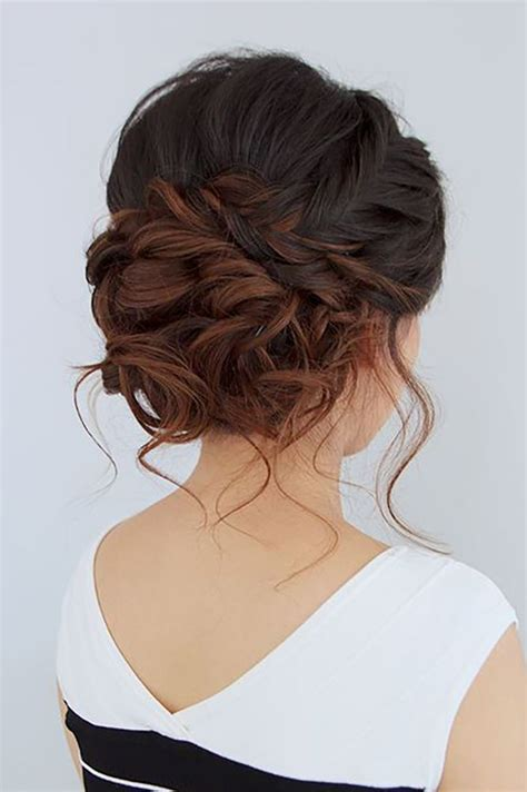 Wedding Hair Updo With Braids by 25 Best Ideas About Braided Updo On