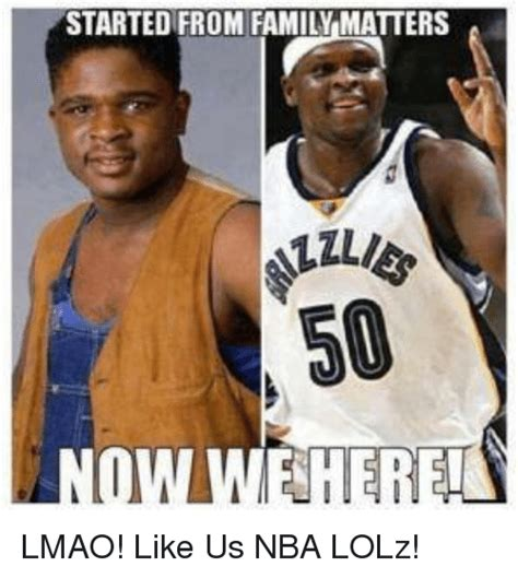 Family Matters Memes - started from family matters lmao like us nba lolz