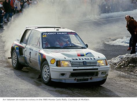 peugeot 205 rally you can bid on the peugeot 205 t16 group b rally car