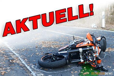 3 Motorradfahrer Verungl Ckt motorradfahrer 44 bei crash mit traktor t 246 dlich