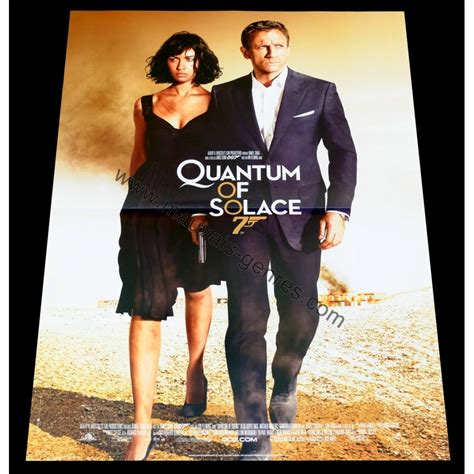 quantum of solace le film complet affiche de quantum of solace