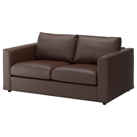 ikea loveseat vimle 2 seat sofa farsta dark brown ikea