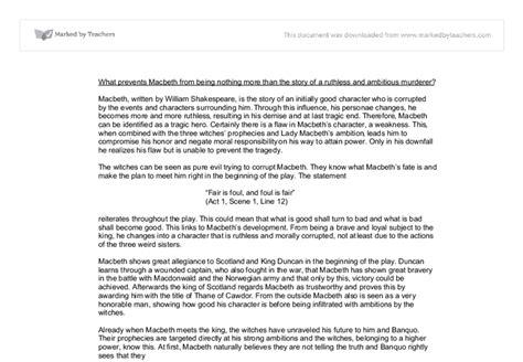 Macbeth Motif Essay by Macbeth Essay Theme