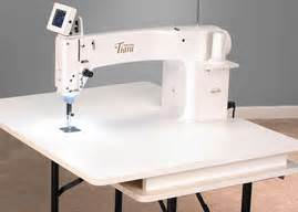 baby lock tiara ii 16 quot sit longarm quilting machine