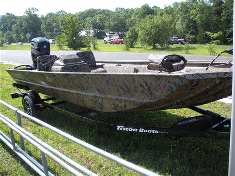 aluminum boats for sale in sc triton sc boats for sale