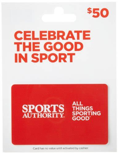 Dxl Gift Card - sports authority gift card 50 arts entertainment party celebration giving cards