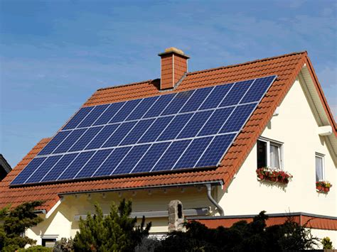 what holds up a solar house how green are solar panels