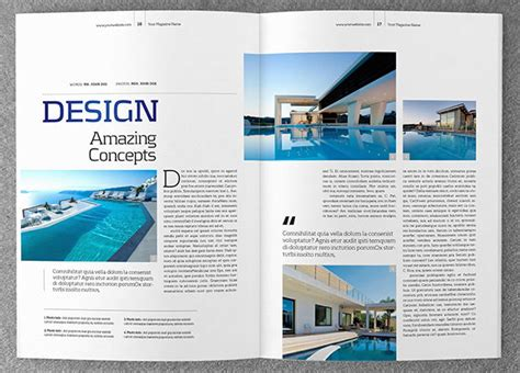 magazine layout design free download 66 brand new magazine template free word psd eps ai