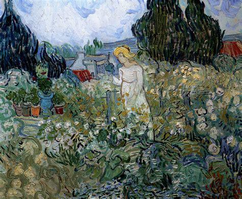 toile tendue jardin 1890 gogh mademoiselle gachet dans jardin miss gachet in garden huile sur toile 46