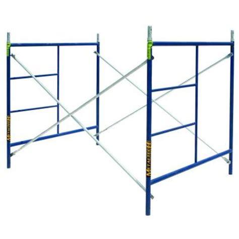 metaltech saferstack 5 ft x 5 ft x 7 ft scaffold set m