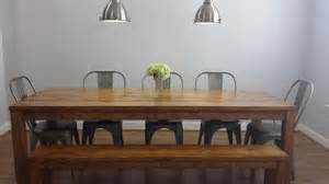 Staining Dining Room Table 8 Parsons Table In Early American Stain Contemporary Dining Room Other Metro