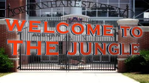 The Jungle Football welcome to the jungle auburn football