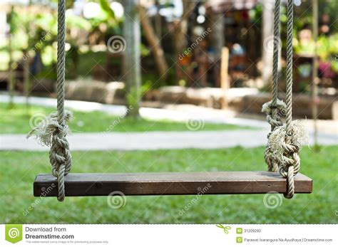old wooden swing old wooden swing stock photo image 31209280