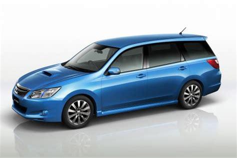 new subaru models fhi unveils new model subaru exiga a seven seater for