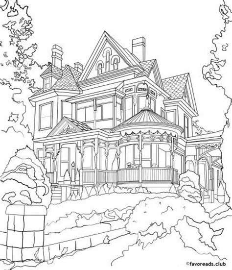 mansion house coloring pages 1000 images about adult colouring buildings houses