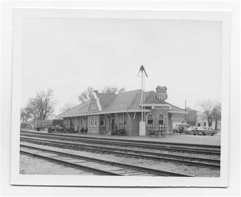 union pacific railroad company depot manhattan kansas