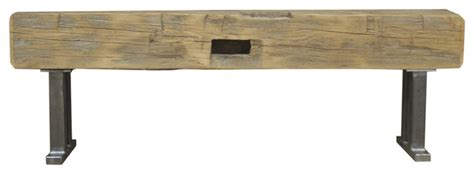 60 upholstered bench beam bench 60 quot upholstered benches by the global craftsman