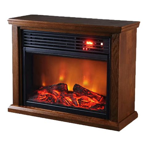 Infrared Electric Fireplace Thermal Wave By Sunheat Twfp1510 Infrared Electric Fireplace Oak Electric Fireplaces