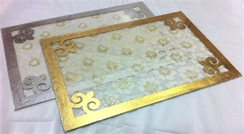 mattes plexiglas reversible acrylic table mats design 3