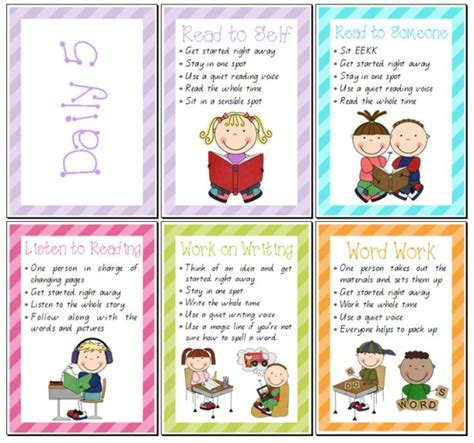 printable stamina poster set of daily 5 posters teacher s marketplace the online