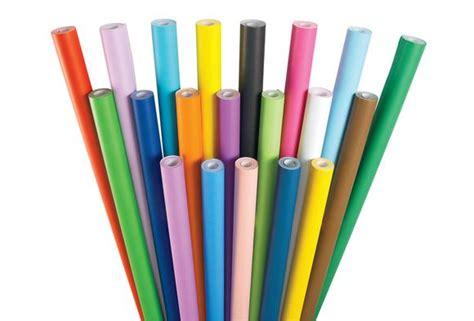 Colored Craft Paper Rolls - fadeless 174 paper rolls 48 quot w x 50 l