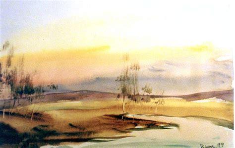 imagenes de paisajes en acuarela jes 250 s pajares alonso mis acuarelas 187 pintar cielos con el