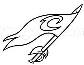 cavs coloring pages drawing the cleveland cavaliers logo step by step sports pop culture free drawing