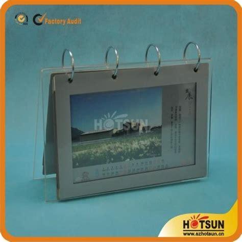 acrylic desk calendar holder acrylic desk calendar stand and calendar holder hs 006