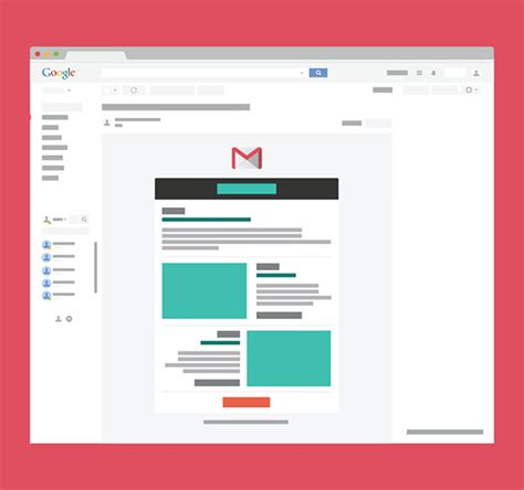 html5 wireframe template 14 gmail email templates html psd files