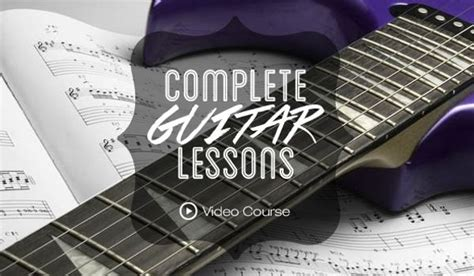 learn guitar your own learn to play at your own speed with the complete guitar