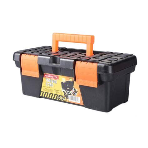 Obeng Hp Handphone Obeng Mini Isi 6 jual kenmaster b250 set tool box mini dan 6 obeng