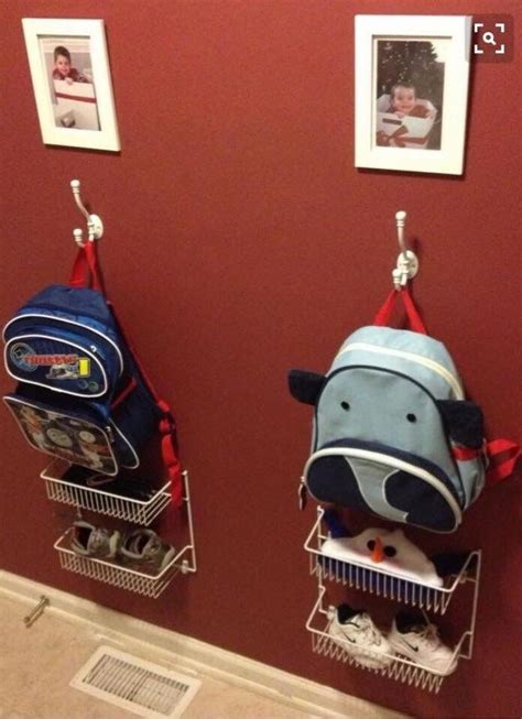 ideas for hanging backpacks best 25 backpack hanger ideas on