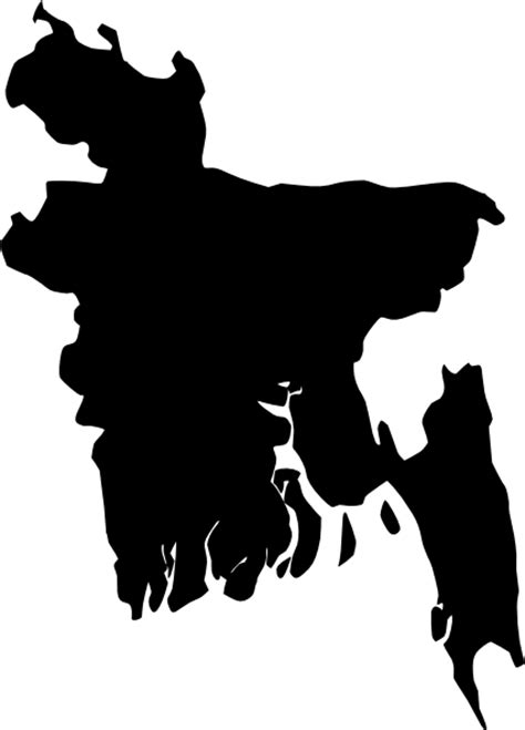 bangladesh map clip art  clkercom vector clip art