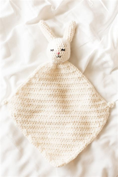 knitted bunny blanket pattern the cutest crochet bunny blanket flax twine