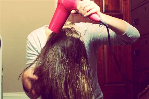 dry hair upside down blow drying hair upside down hairstylegalleries com