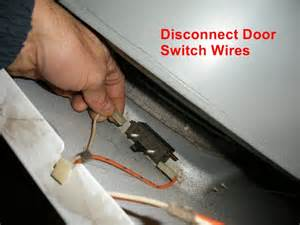 replace actuator switch to kenmore electric dryer