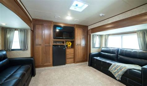 open range front living room fifth wheel home interior open range 376fbh front living room or 2nd bedroom fifth