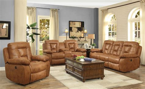 coaster reclining sofa coaster evensky power reclining sofa set saddle 601864p
