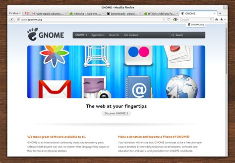 gnome themes adwaita being hacked download gnome 3 adwaita theme for firefox