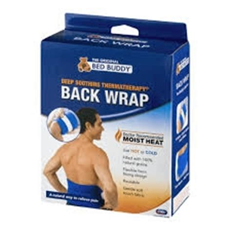 bed buddy back wrap bed buddy hot cold therapy back wrap 1ct